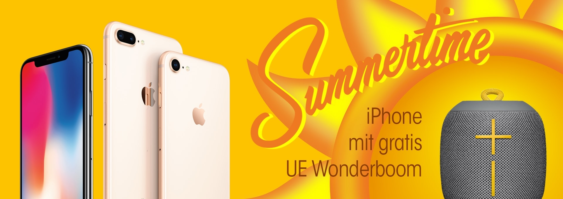 iPhone 256 GB mit gratis UE Wonderboom