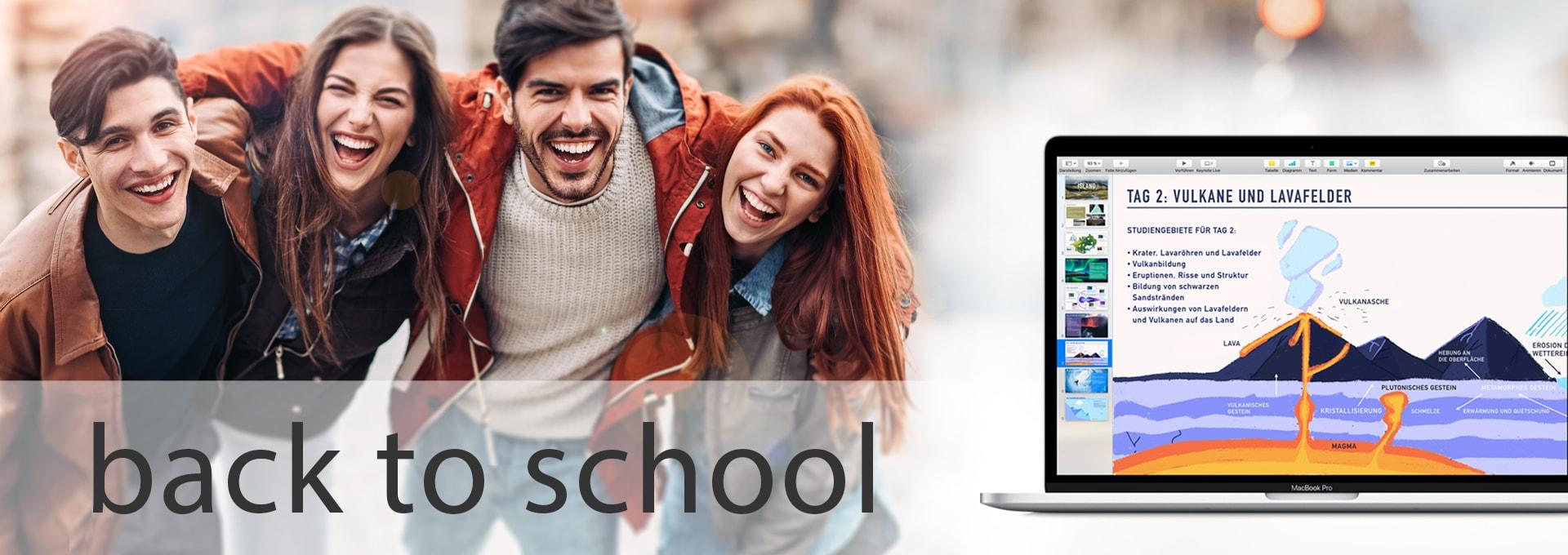 Back To School und Neptun Kampagne 2018