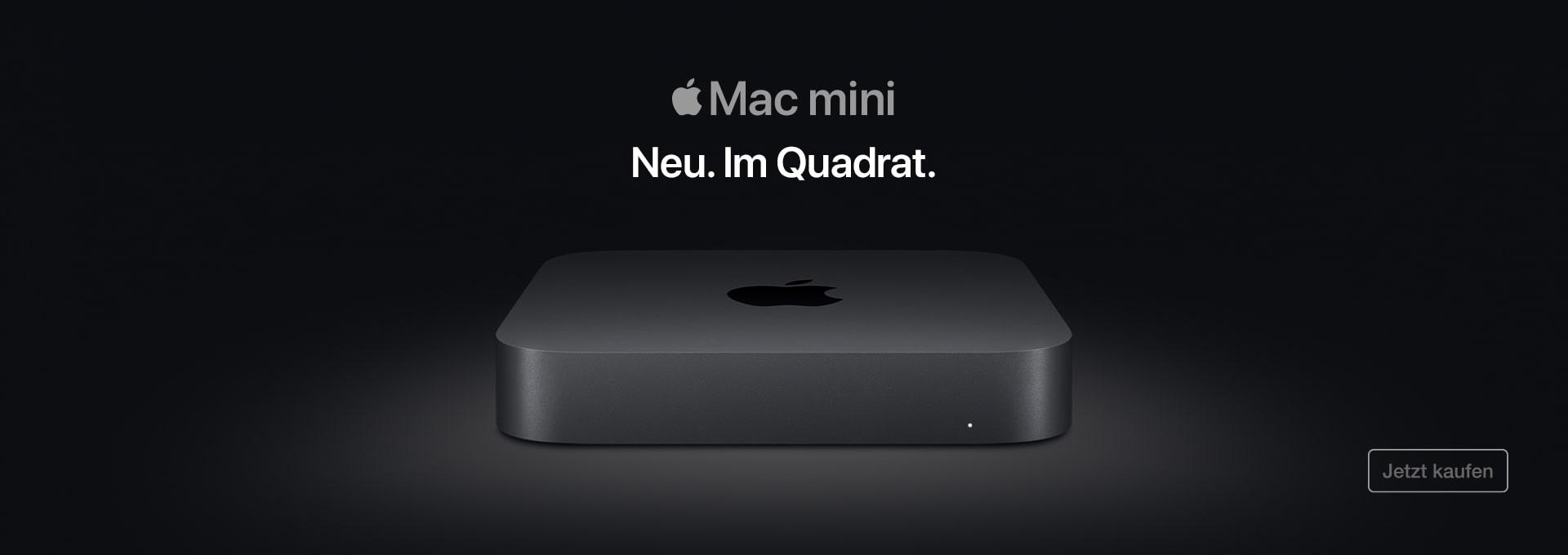 Der neue MacMini