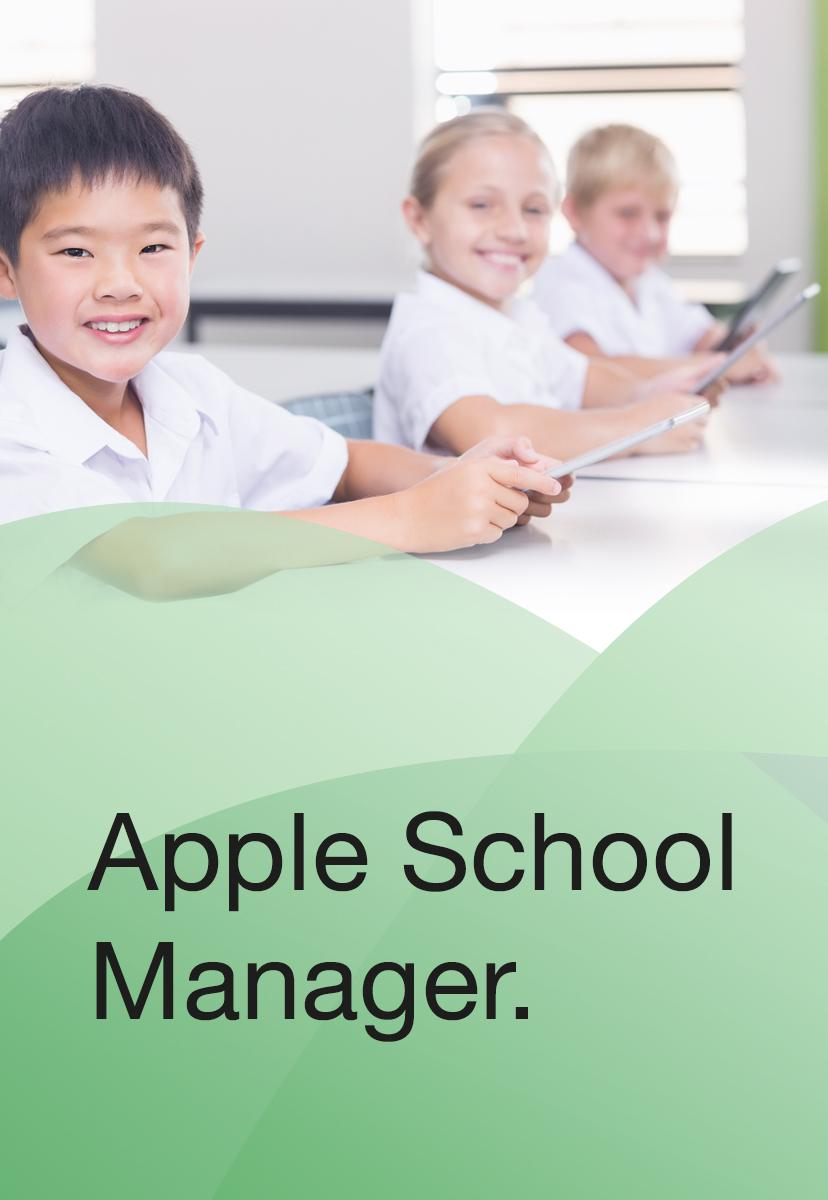 Apple School Manager EDU