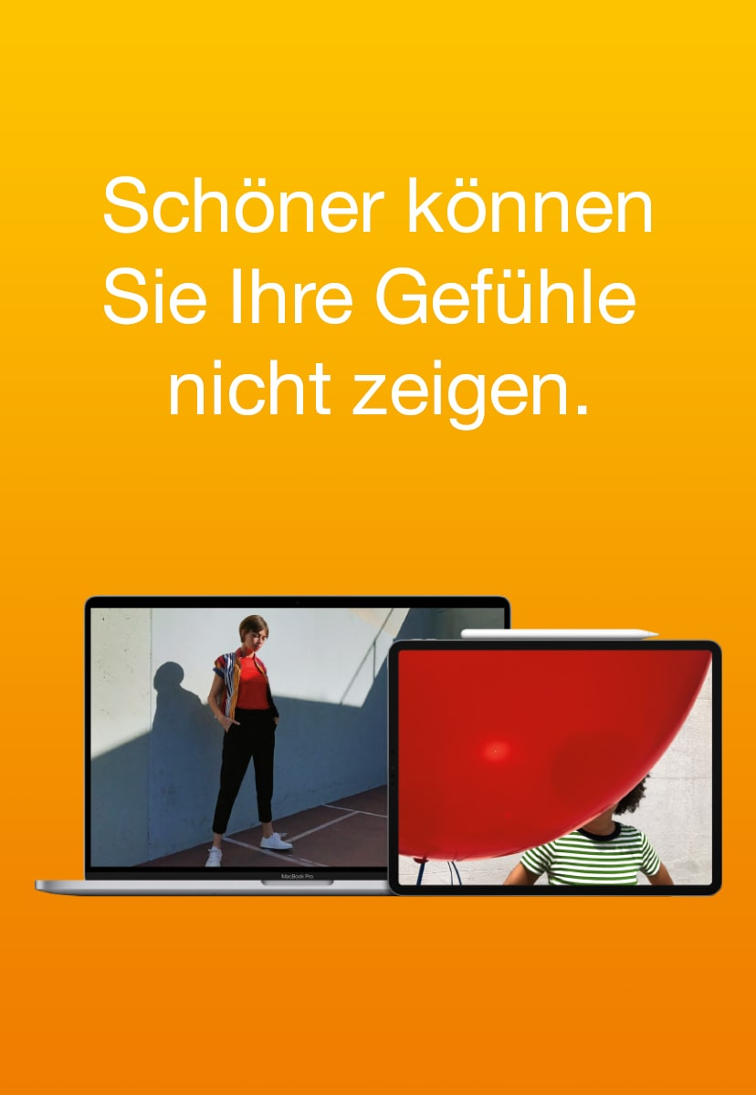 Weihnachtskampagne mit Apple