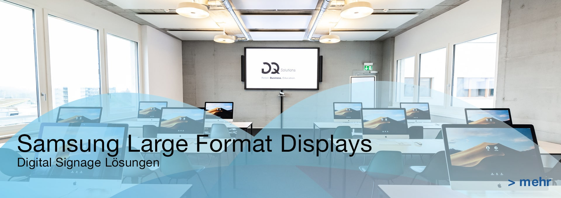 B2B Samsung Large Displays