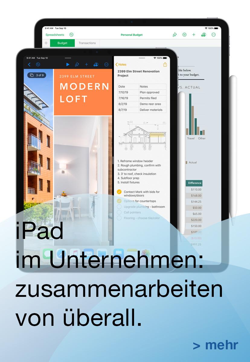 iPad im Unternehmen