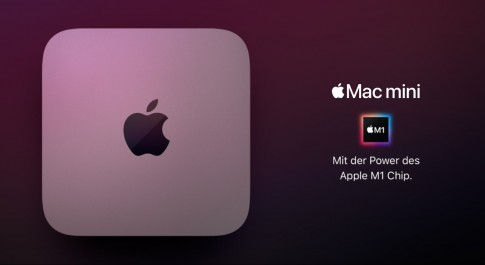 Mac mini mit Apple M1 Chip