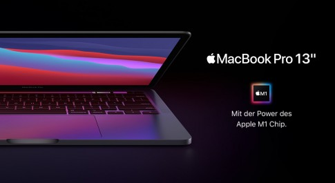 MacBook Pro 13 Zoll mit Apple M1 Chip