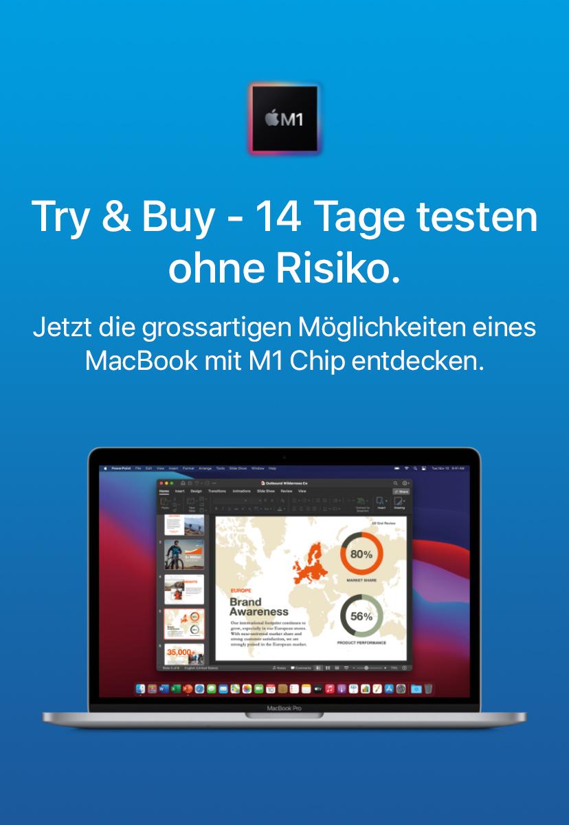 B2B - Try & Buy - 14 Tage testen ohne Risiko