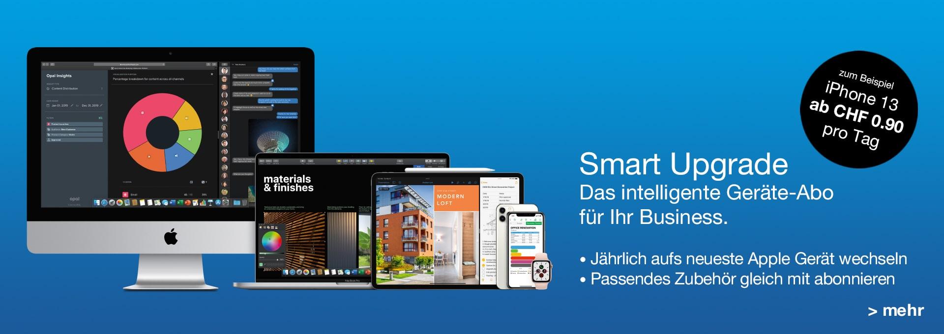 B2B - Smart Upgrade - Geräteabo für Business