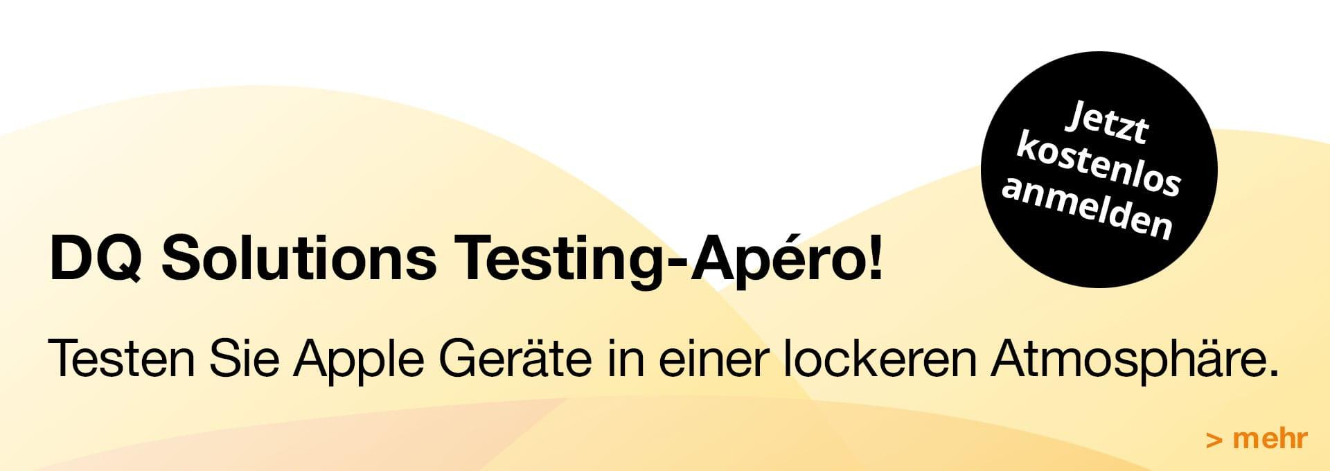 DQ Testing Apéro