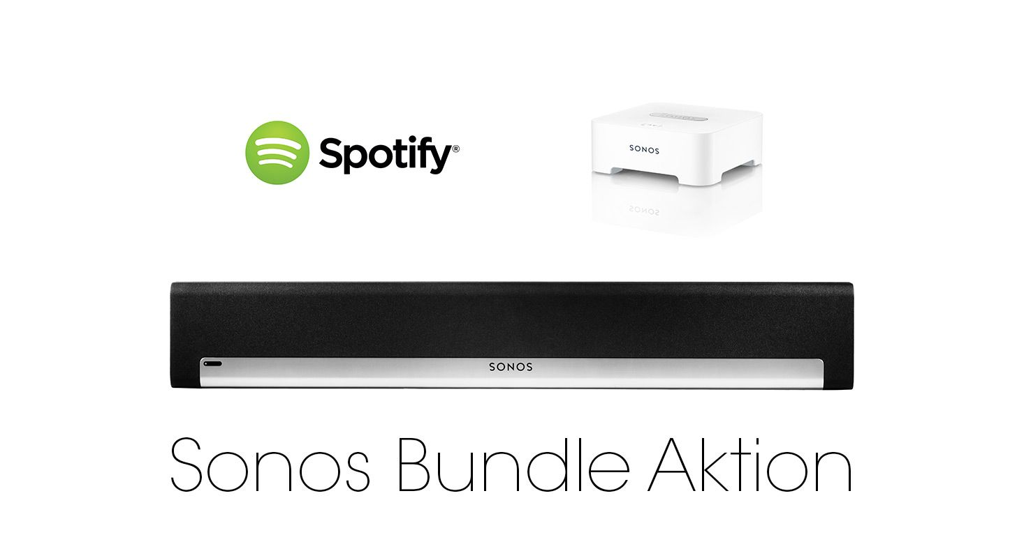 Sonos Bundle Aktion mit Spotify