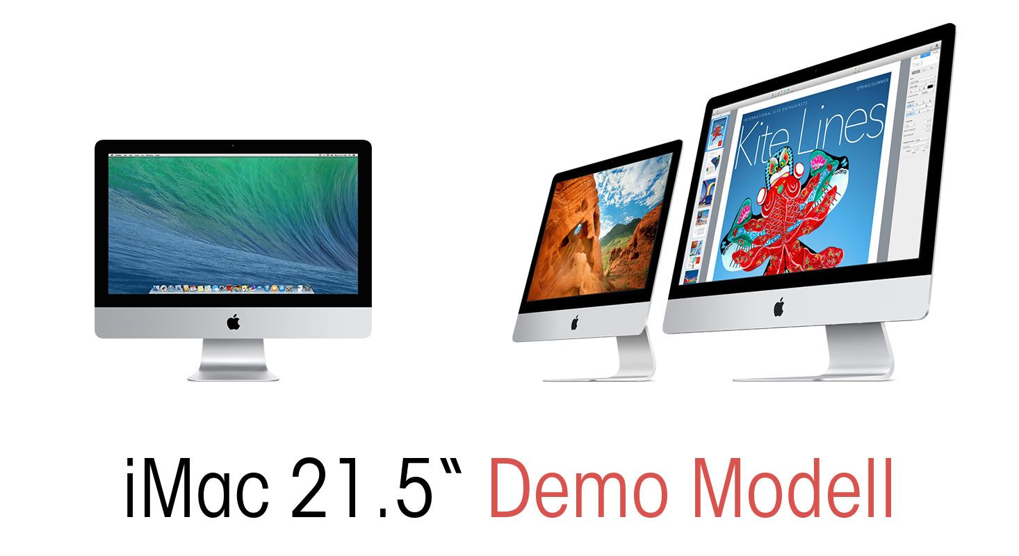 DQ Outlet: Demo iMac Modell
