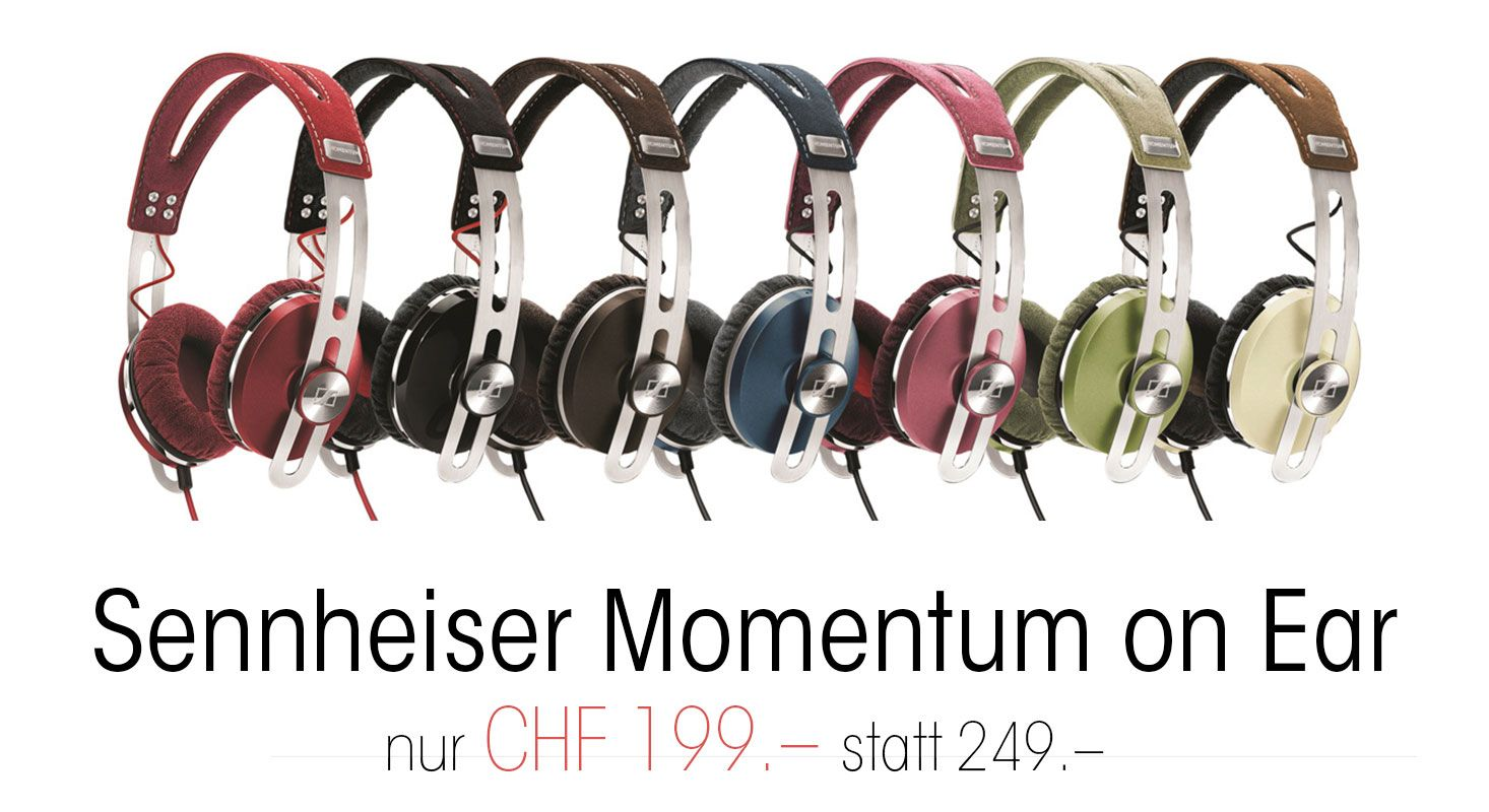 Sennheiser Momentum on Ear Sommeraktion