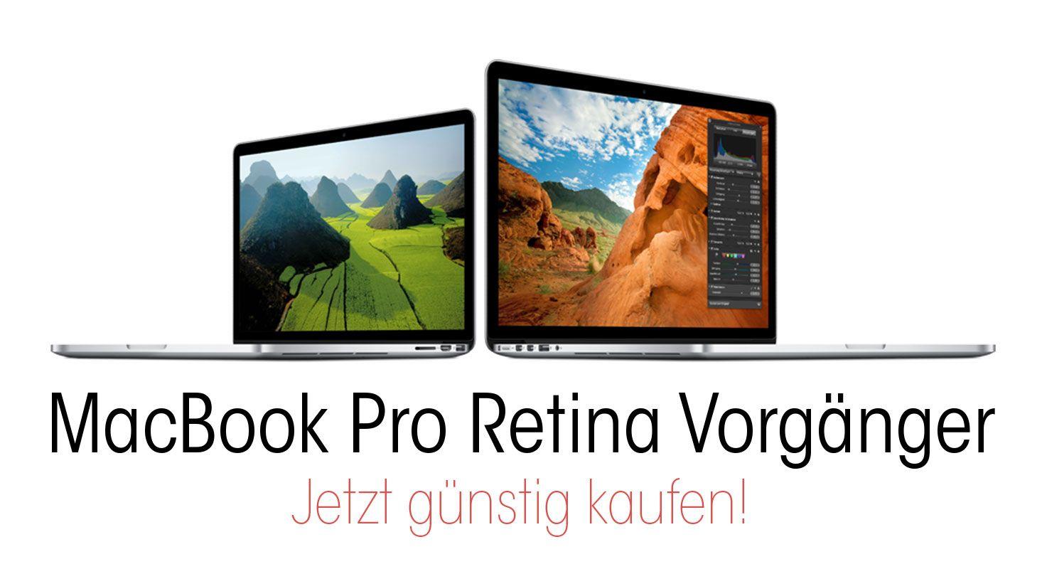 MacBook Pro Retina Abverkauf