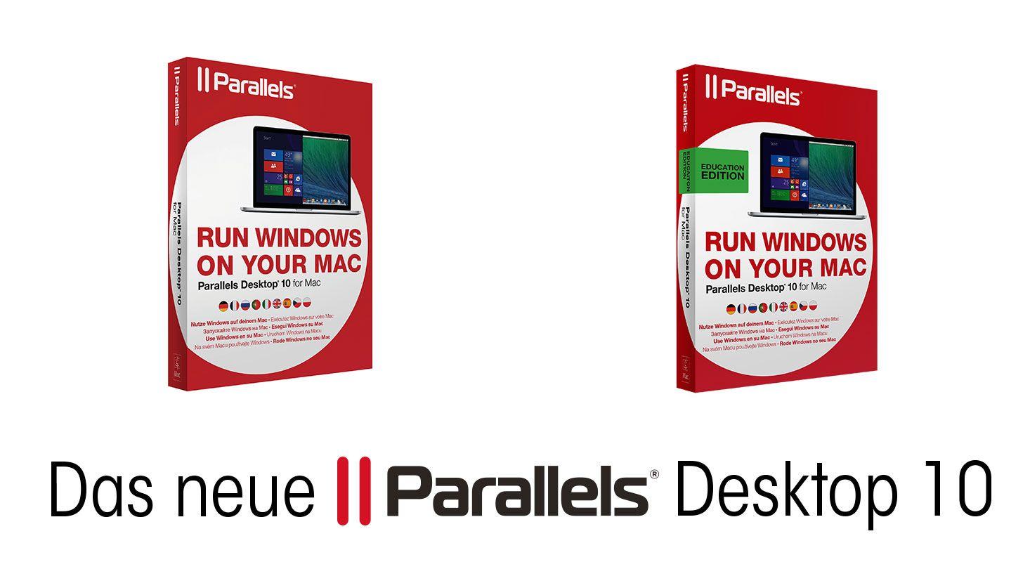 Produktvorstellung: Parallels 10