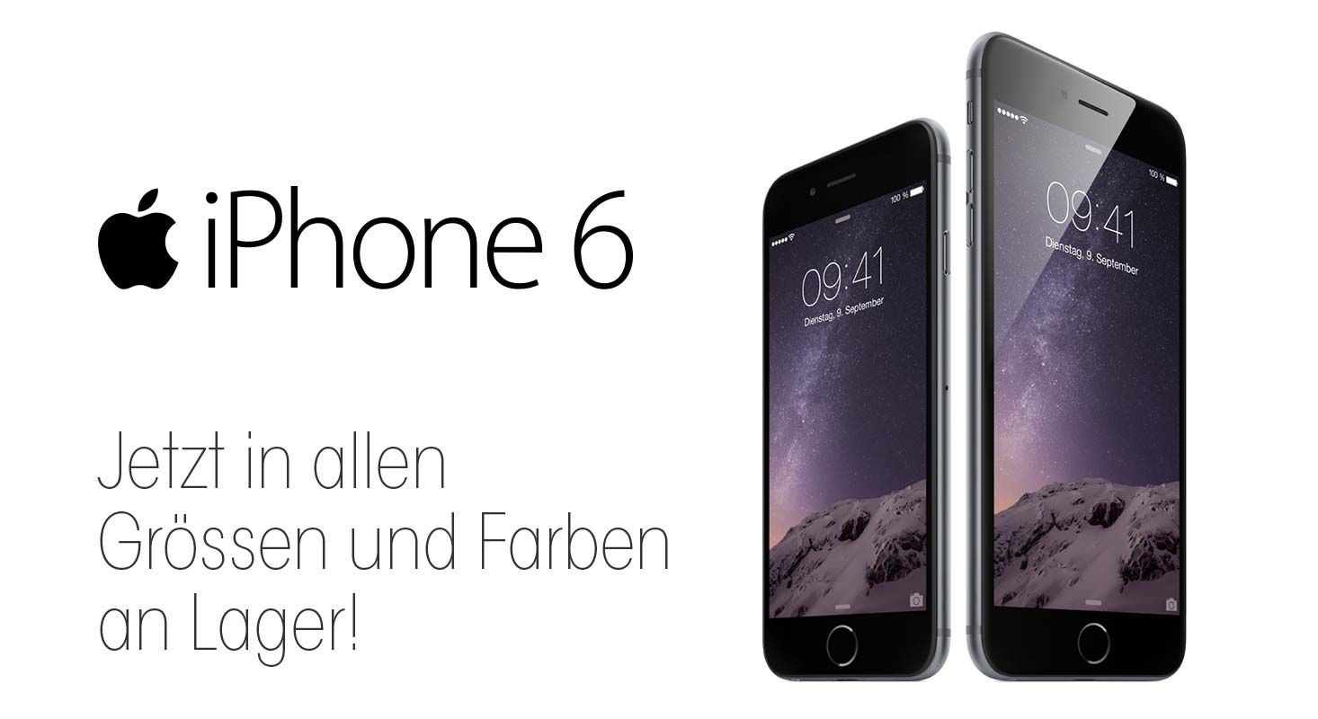 iPhone 6 ab Lager Promo