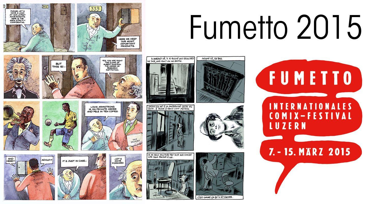Fumetto 2015 - Comix Festival Luzern