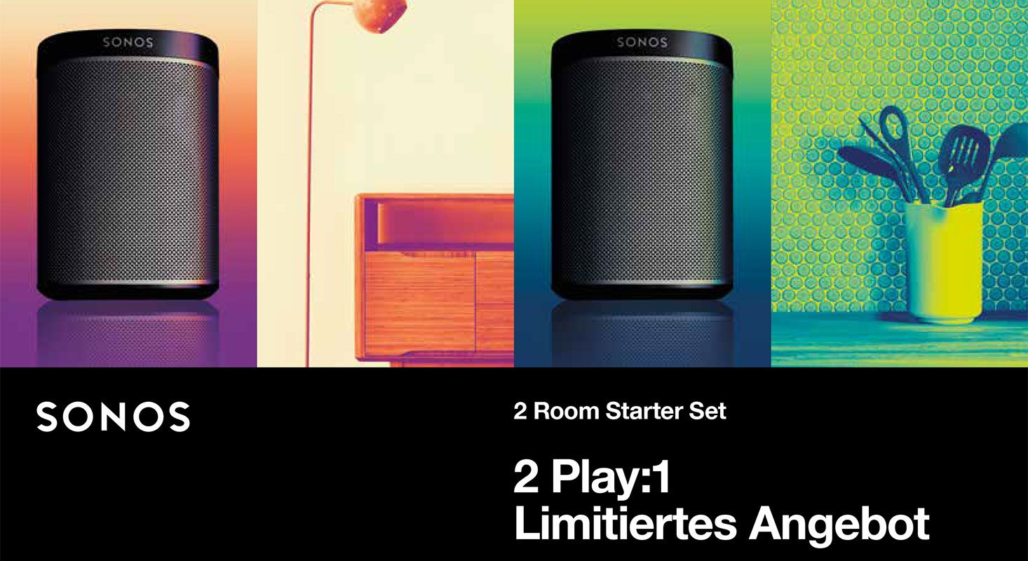 Sonos Play:1 Bundle Promo