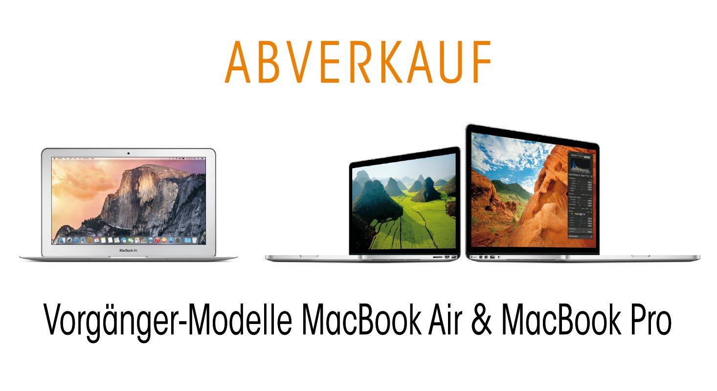UPDATE: Abverkauf MacBook Pro + MacBook Air, A5 neu