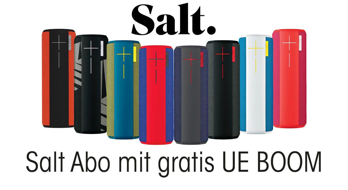 UPDATE: Gratis UE Boom mit SALT Neuvertrag