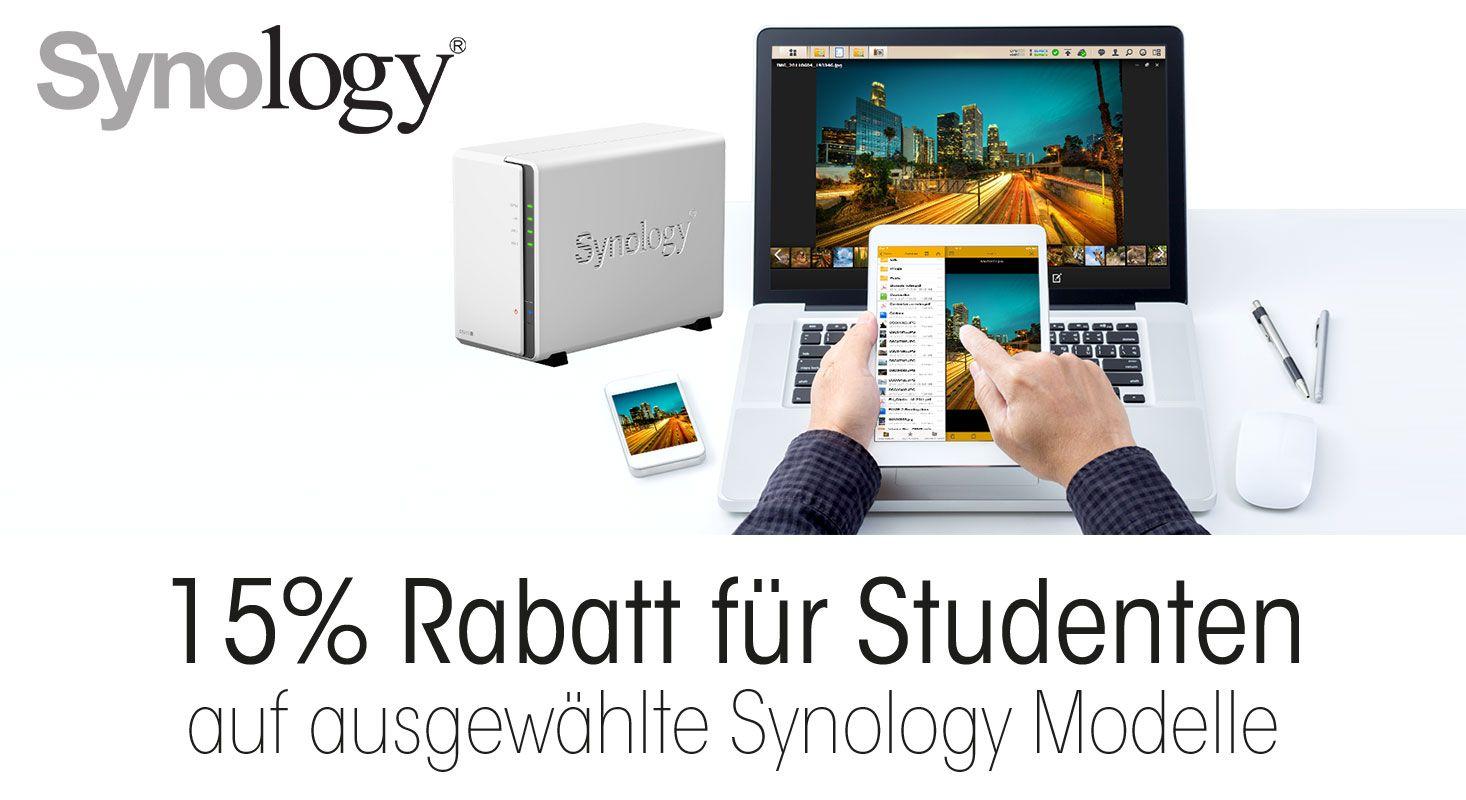 Synology für Studenten