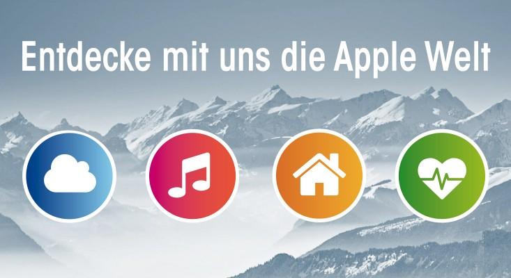 Entdecke mit uns die Apple Welt