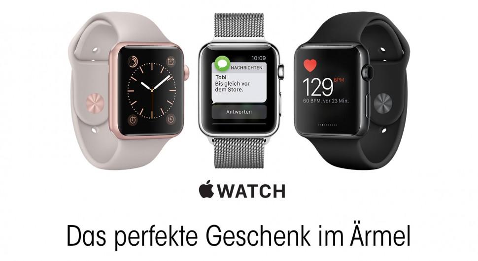 Apple Watch - Das perfekte Geschenk im Ärmel