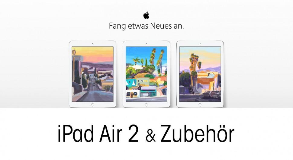 Fang etwas Neues an - Apple Kampagne