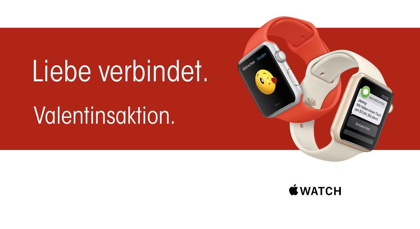 Apple Watch Valentins Promo