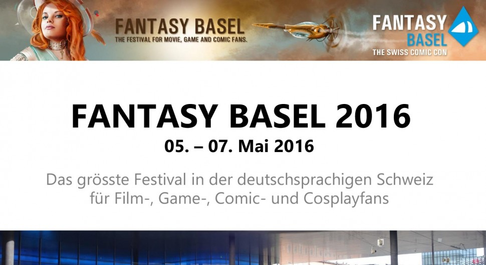 Teilnahme an der Fantasy Basel