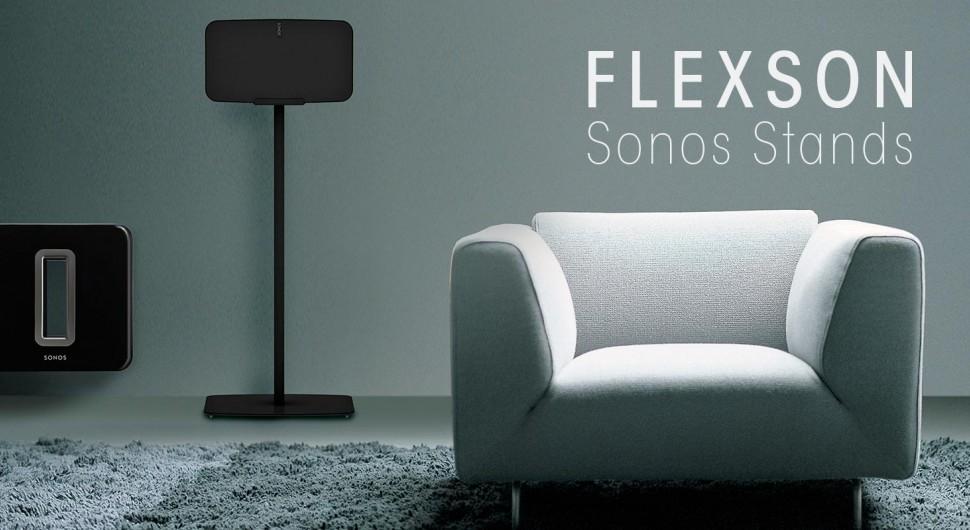 Flexson, da hängt Sonos…