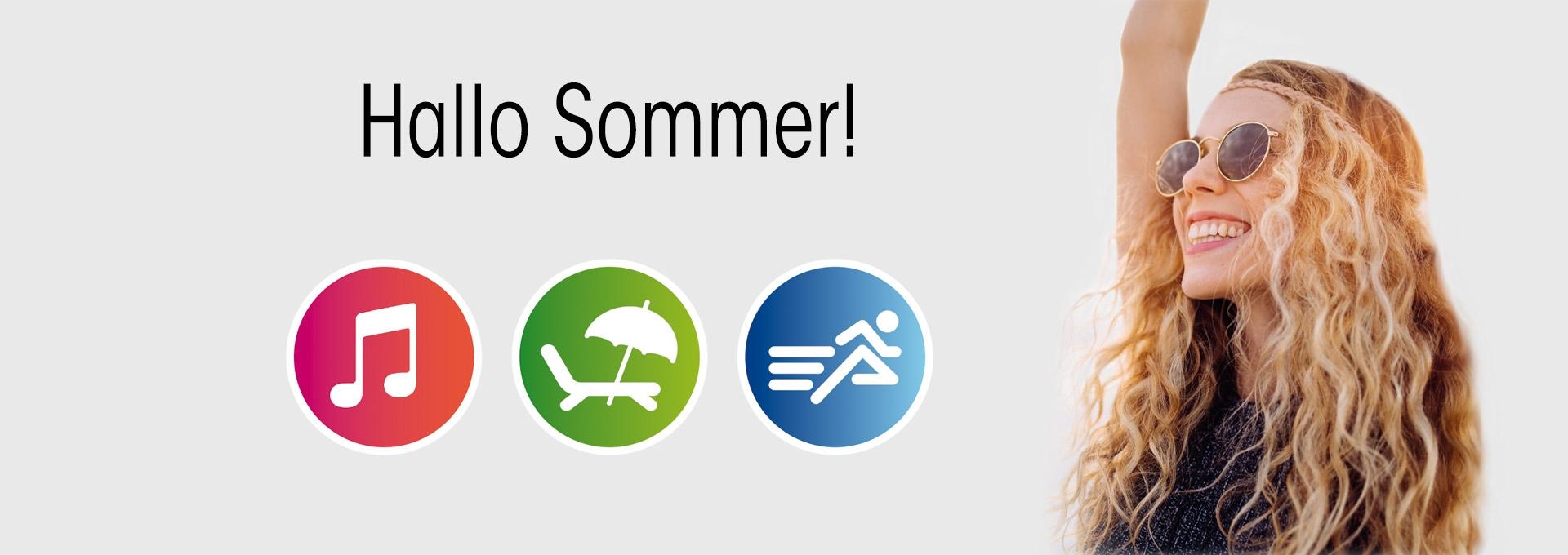 Hallo Sommer - Apple Eco Promo