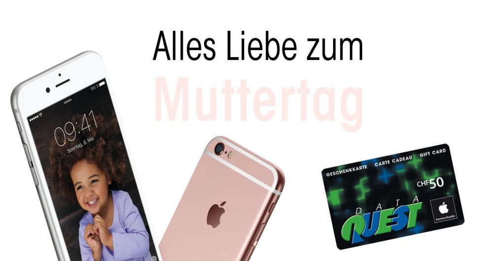 Muttertag: Aktion mit allen Apple rosegold Artikel
