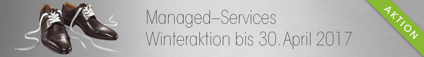 Managed Services Aktion