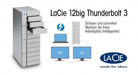 Lacie 12 GB Thunderbolt