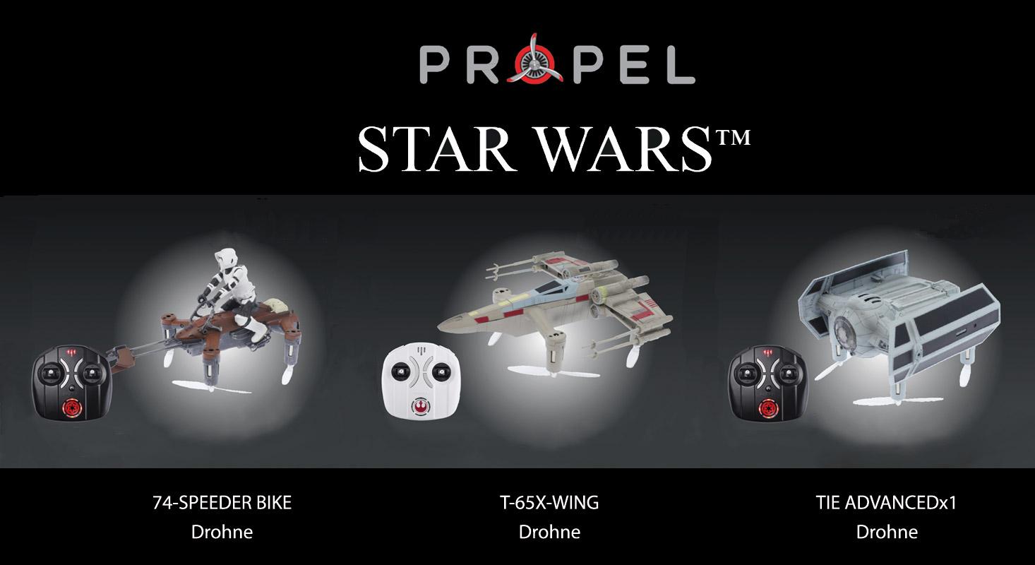 Die neuen Star Wars-Drohnen sind startklar!