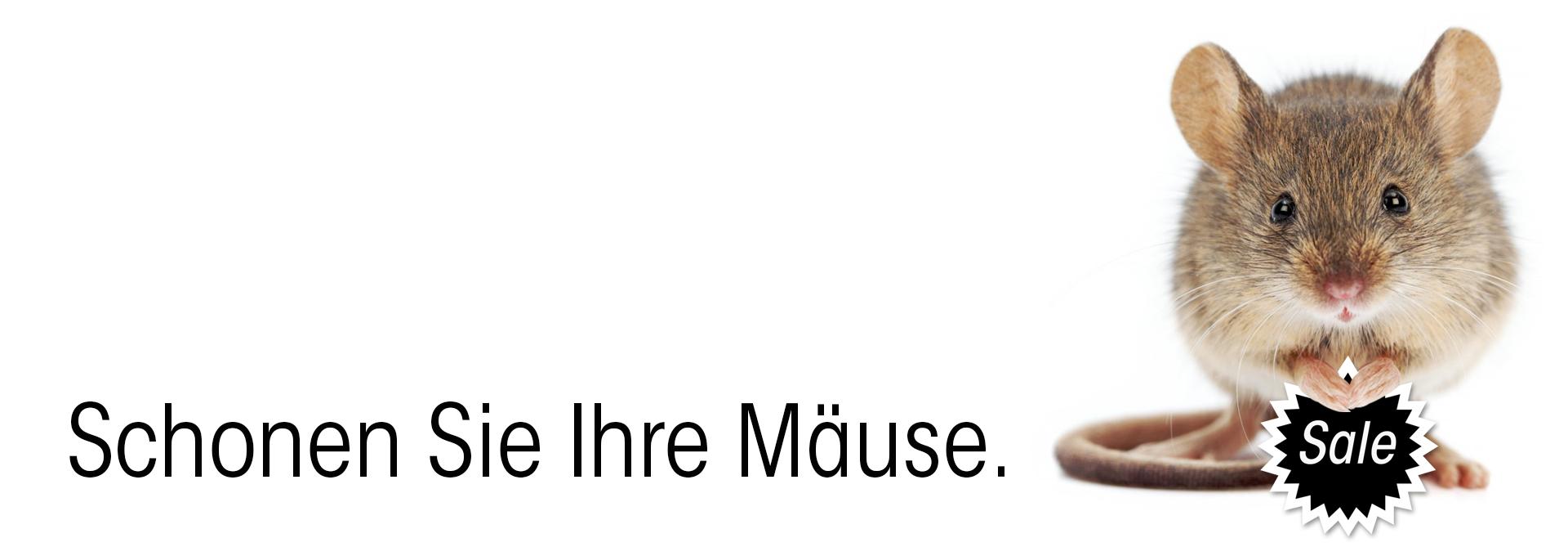 Sale Aktion: Schonen Sie Ihre Mäuse - Update!